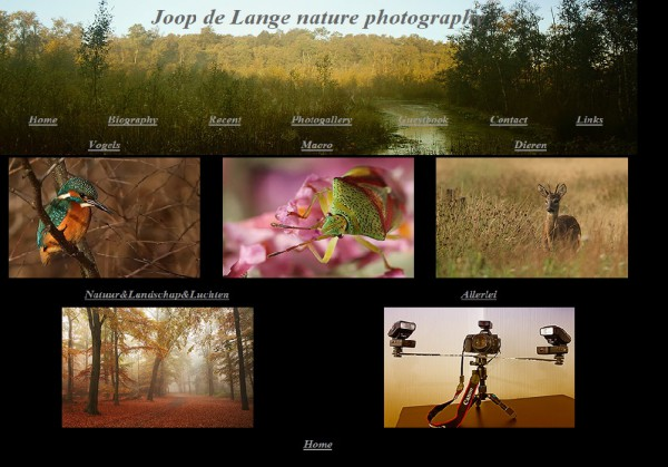 Joop de Lange nature photography